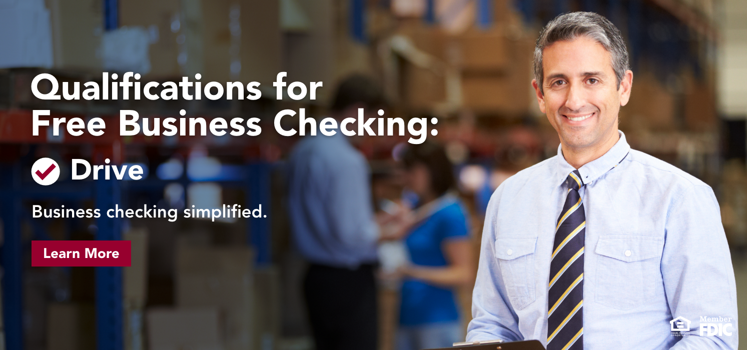 Qualifications for Free Business Checking